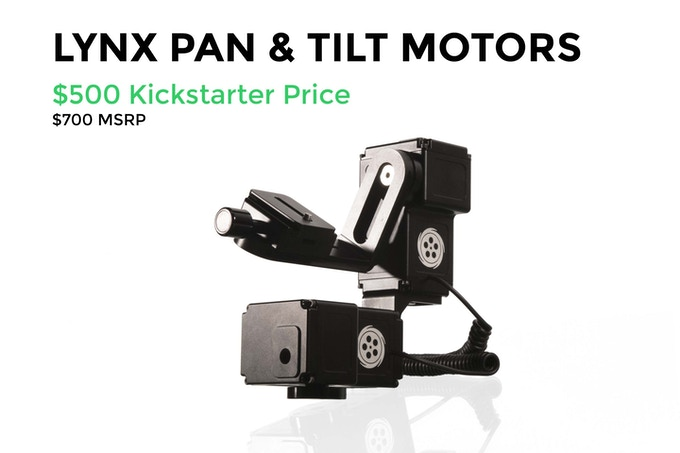 LYNX - Camera Motion Control by Cinetics — Kickstarter