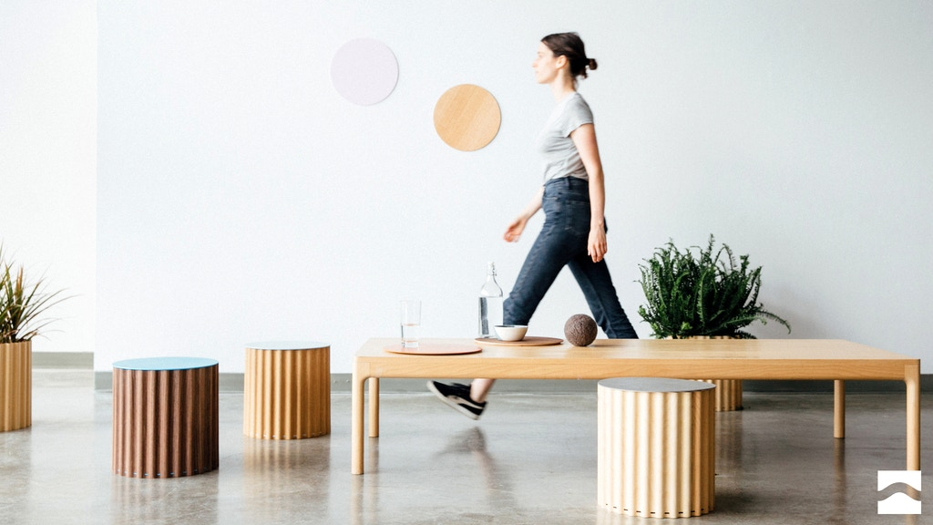 Project image for Tidal Collection: Functional furniture that moves with you