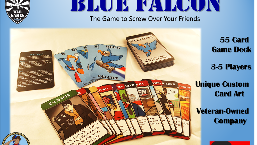 Blue Falcon: The Game to Screw Over Your Friends project video thumbnail