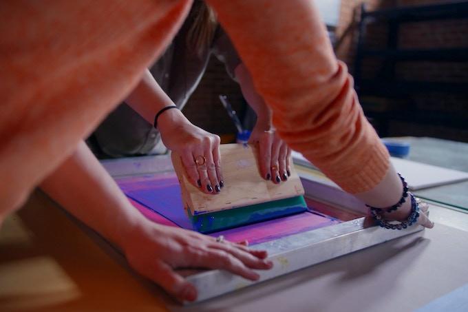 Silk Screen Workshop