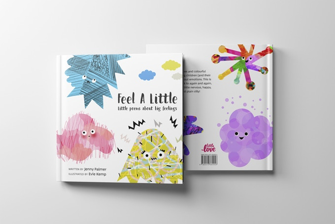 Feel A Little has a robust hardcover and is the perfect square shape for little hands to hold!