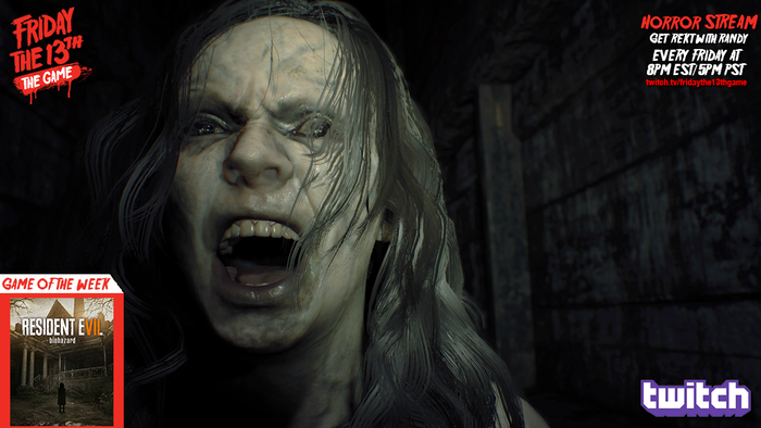 Tonight we're playing Resident Evil 7 at 8pm EST! Join us!