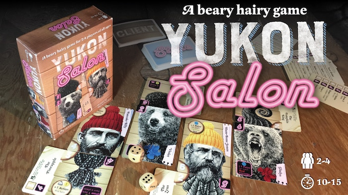 A card game of lumberjacks, grizzly bears, and competitive hairstyling! Missed the Kickstarter? Click the button below to pre-order, Coming November 2017.