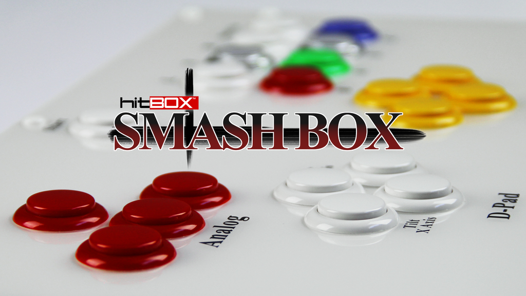 Hit Box Smash Box - Video Game Controller for Smash Bros project video thumbnail