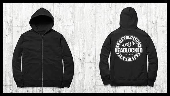 Headlocked: Four Color Fight Club Hoodie