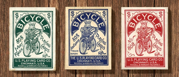 Brew House features an early 1900s Bicycle® logo.