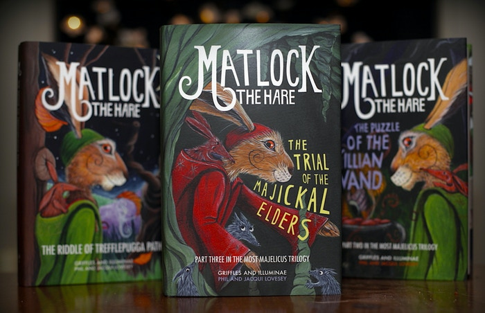The third and final part of the Most Majelicus trilogy - but will Matlock the Hare find all the answers...?