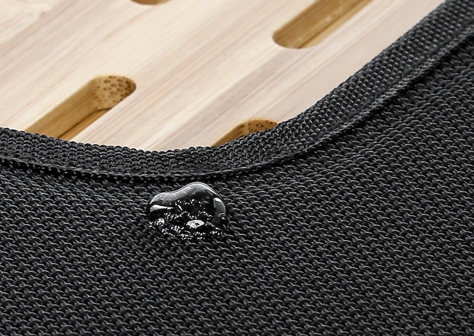 Water-proof Ballistic Nylon exterior provides excellent support and protection.