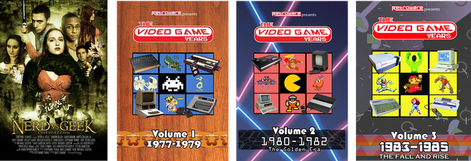 Nerd vs Geek and RetrowareTV's The Video Game Years