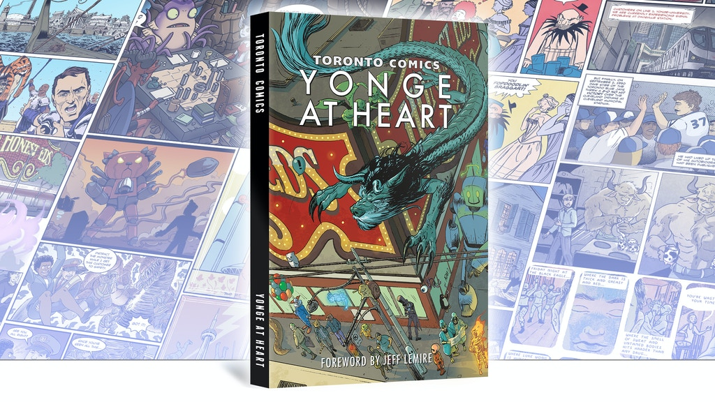 Toronto Comics: Yonge at Heart project video thumbnail
