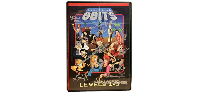 Autographed Living in 8 Bits DVD