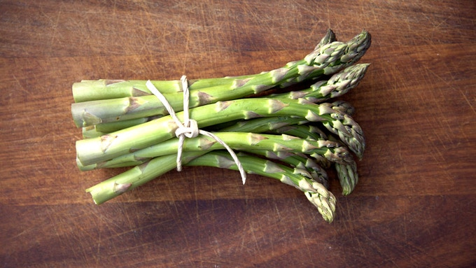 Asparagus, delivered the same morning it is picked