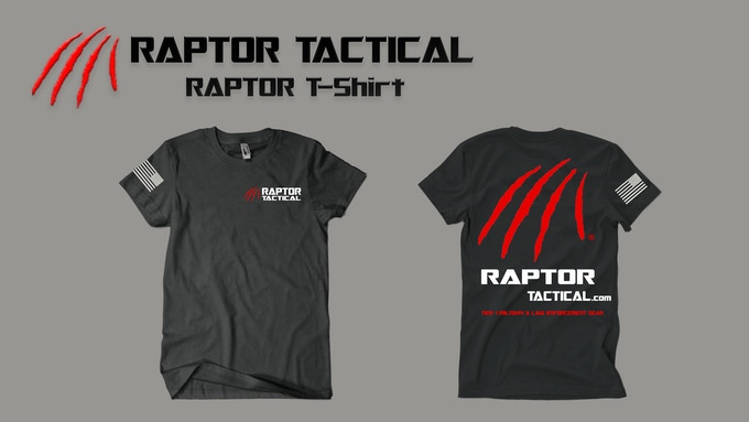*****$25 Raptor Tactical T-shirt*****