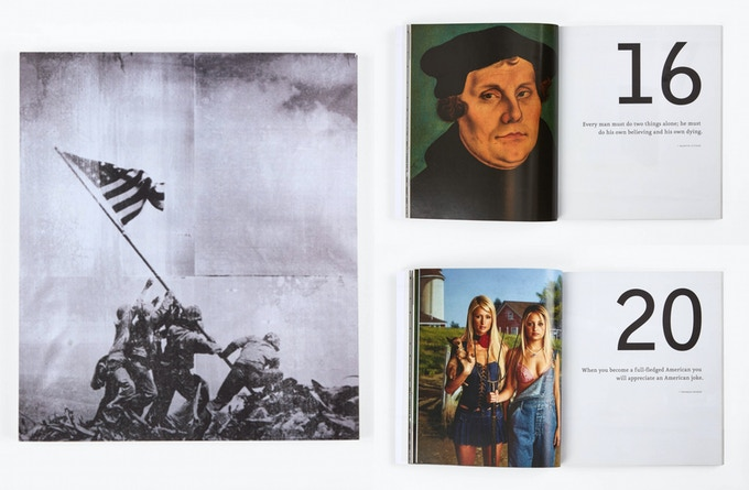 Pledge $100 - Signed, full color artist book by The Bruce High Quality Foundation