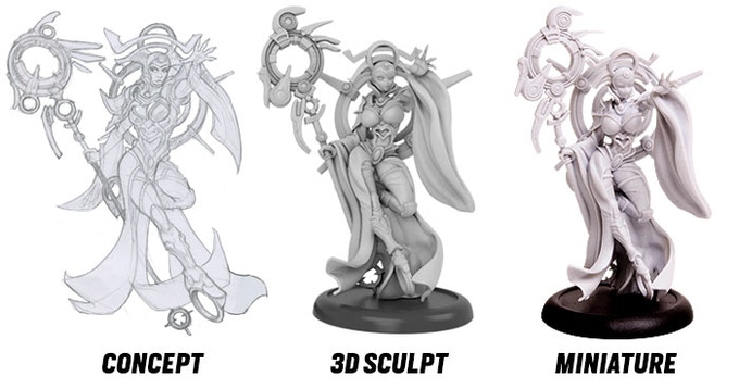 Click on the image to see more resin production models.