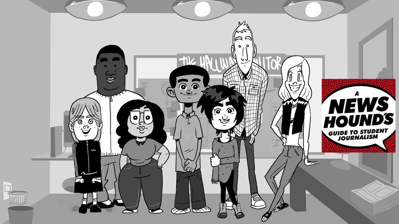Учебник комикс запознава американските ученици с журналистиката и медийната грамотност