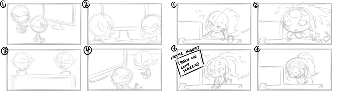 Storyboarding for events and scenes!