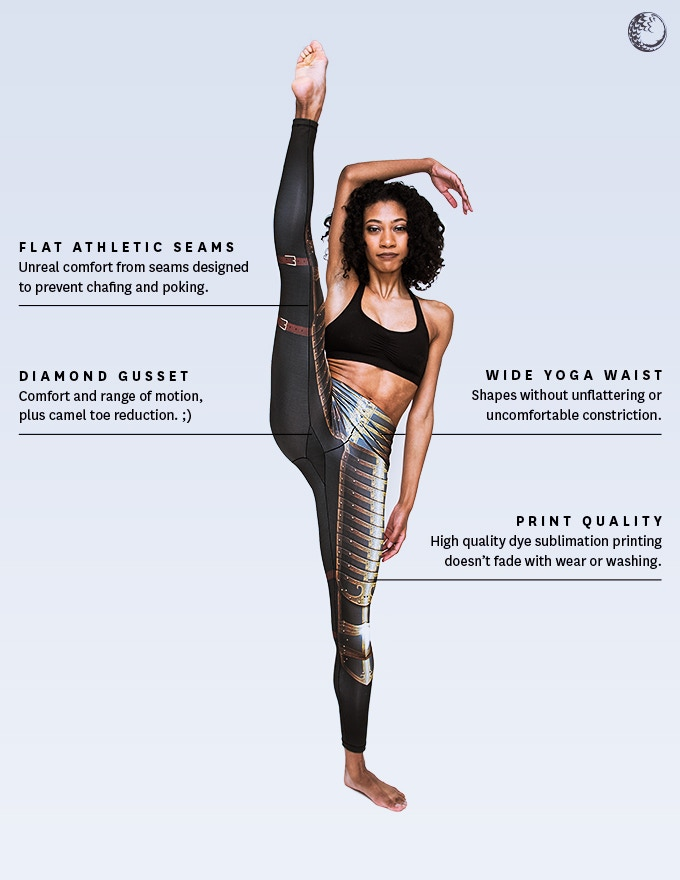 34b4fbd210349 Our leggings are designed for both function and fashion, fighting and  flying.