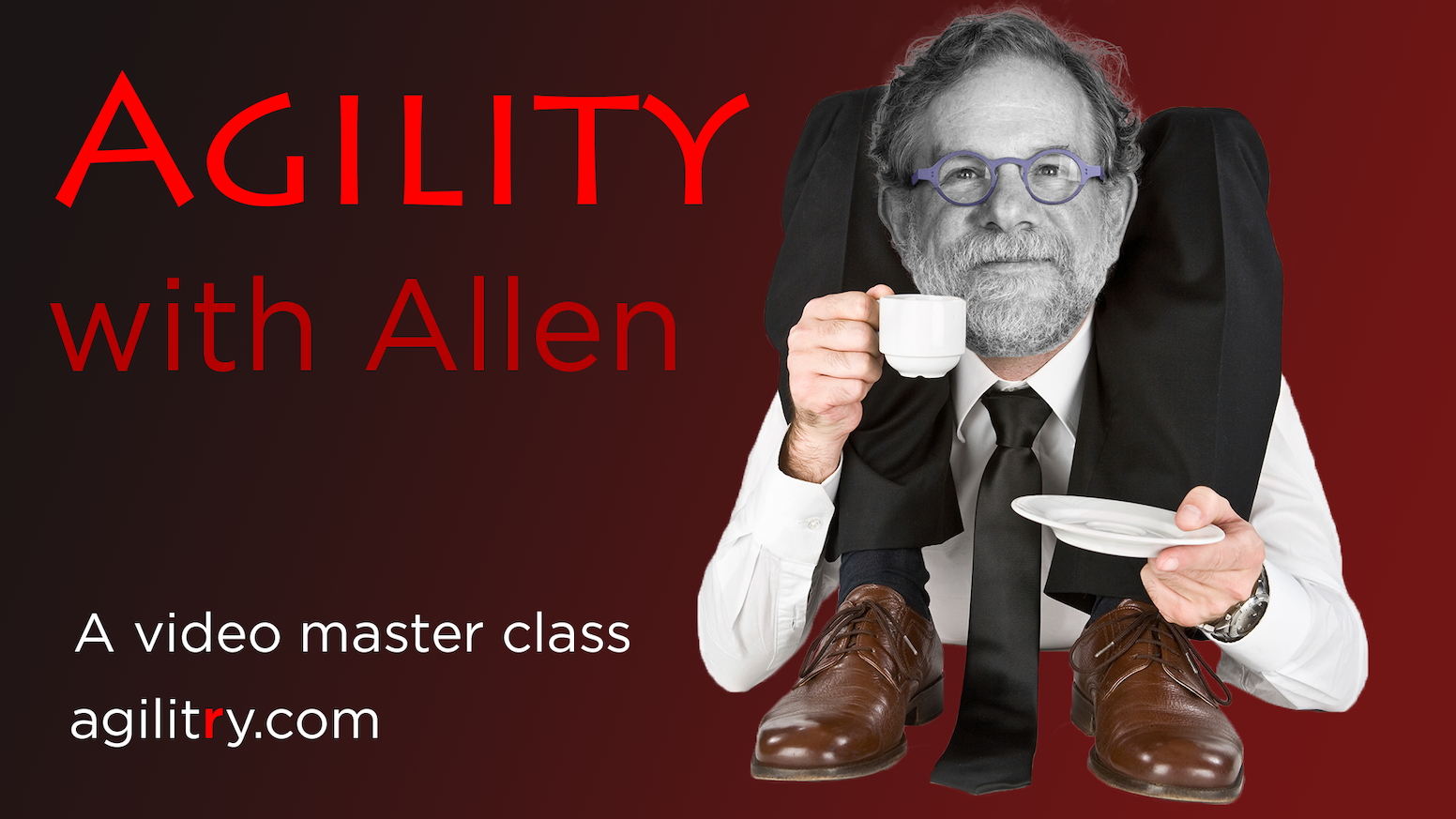 """Most companies who think they're """"Agile"""" aren't. Learn true agility in Allen Holub's comprehensive video master class. Go beyond Scrum!"""