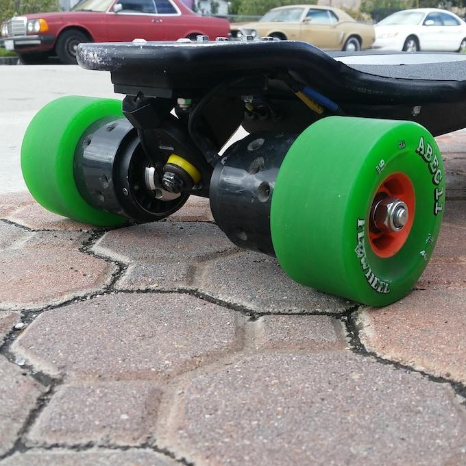 V3 Motors on ABEC 11 Flywheels