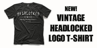 New Headlocked Vintage Logo T-shirt
