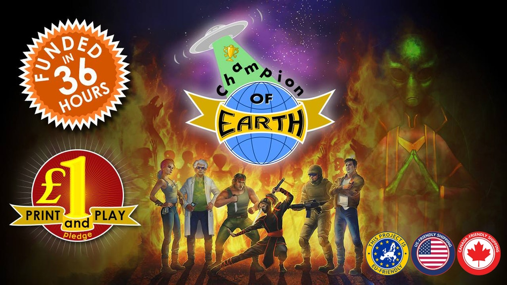 Champion of Earth project video thumbnail
