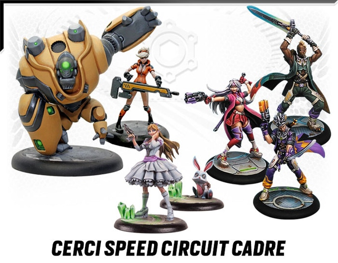 Cerci Speed Circuit Cadre. Add-ons.