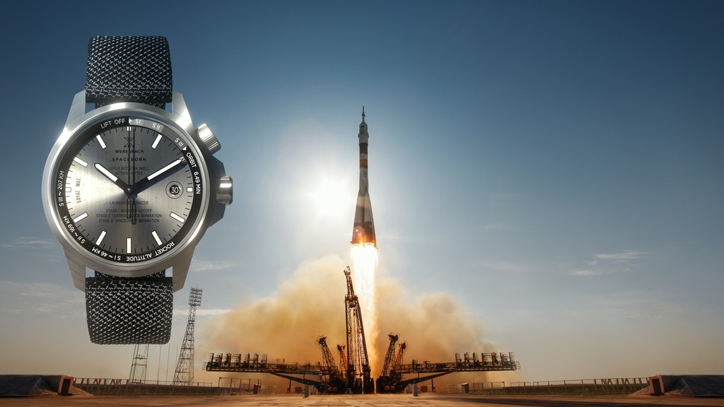 Watches built from spaceborne rockets. project video thumbnail