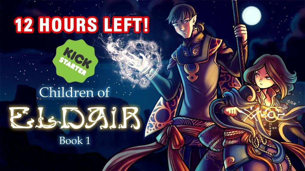 Children of Eldair Book 1 project video thumbnail
