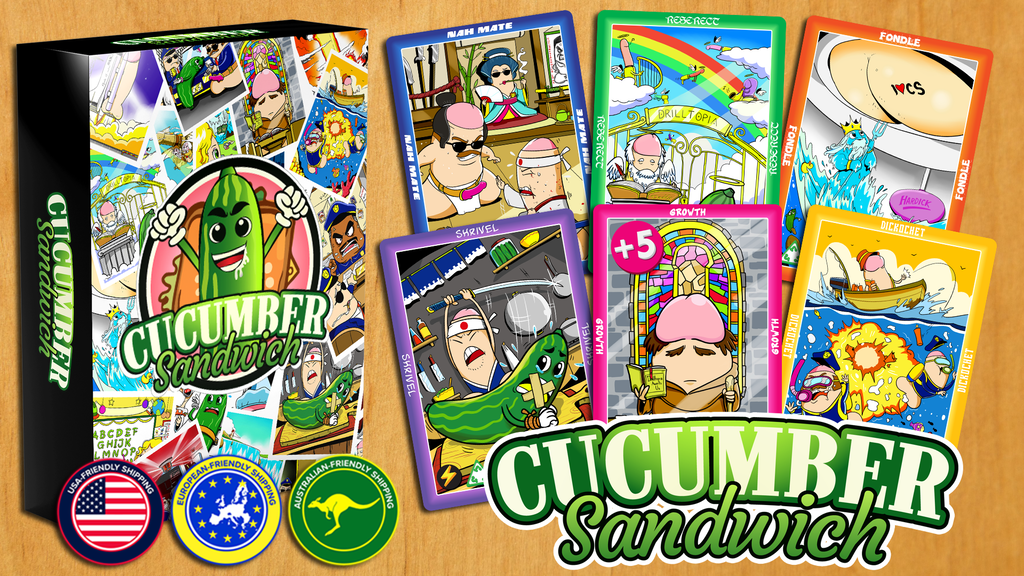 Cucumber Sandwich ~ The NSFW Card Game project video thumbnail