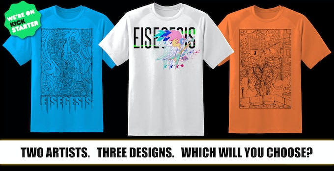 Click to see the final T-Shirt Designs!
