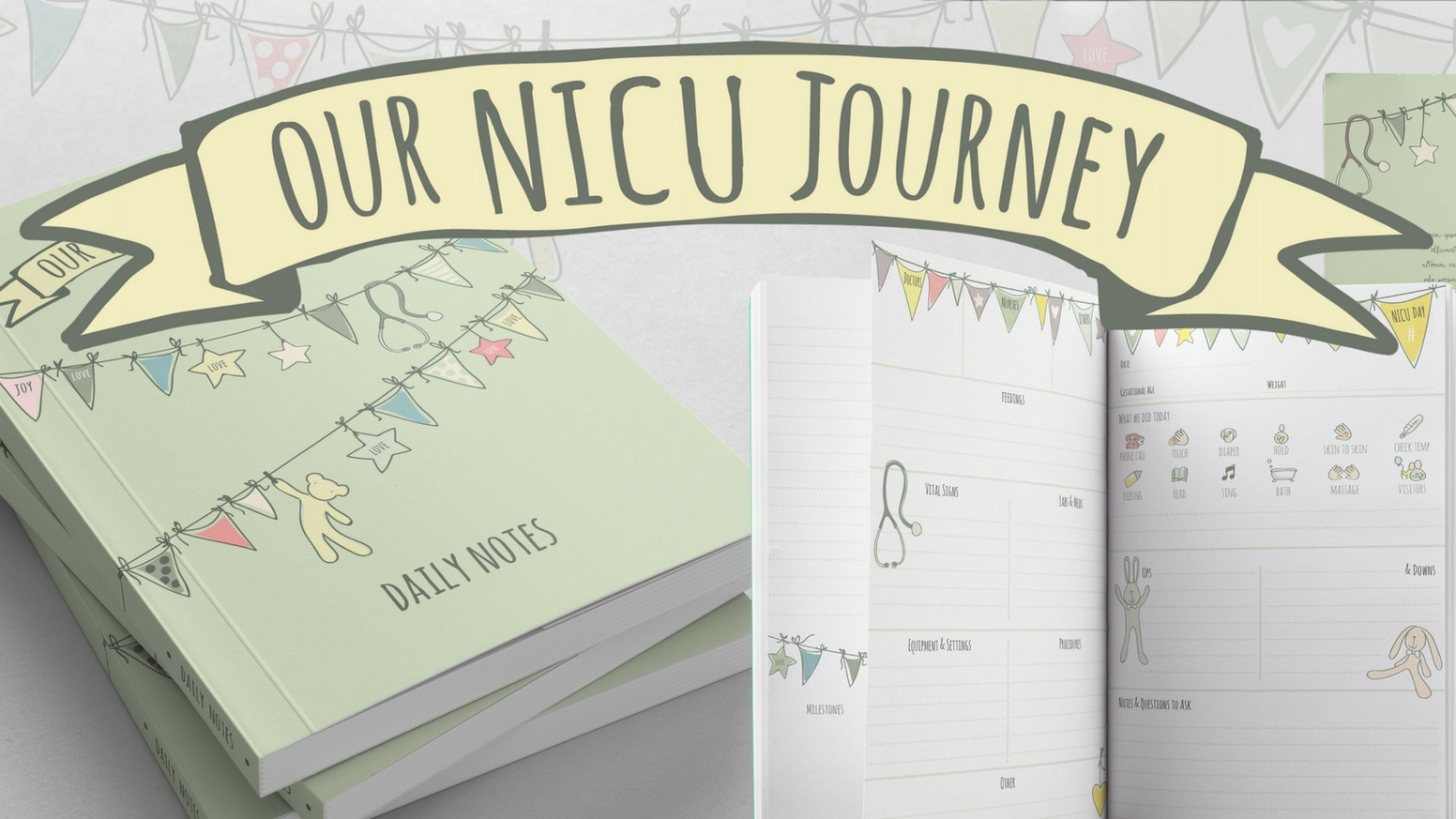 We need your support to publish a beautiful, practical journal for parents of babies in the neonatal intensive care unit.