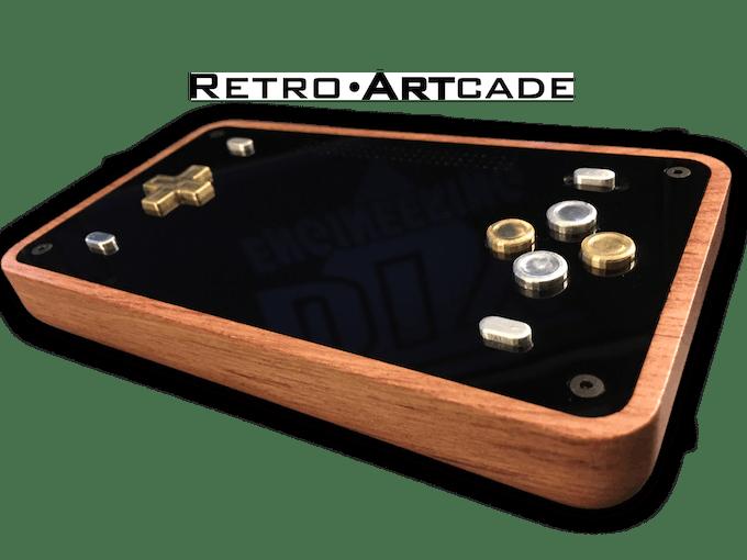 Retro Artcade Handheld Emulator