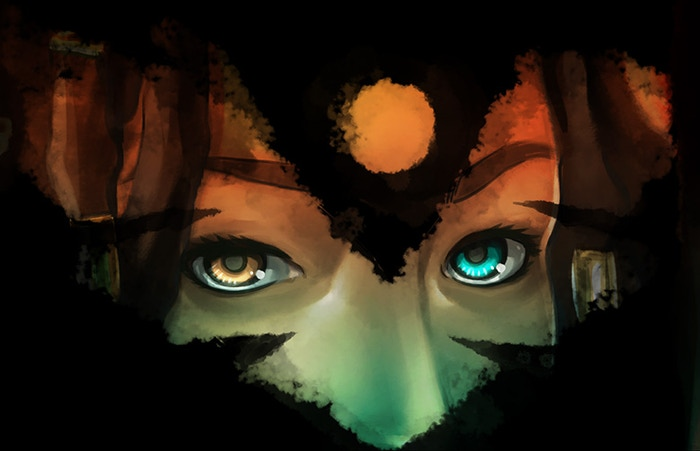 Portion of cover to NIOBE #2 by Ashley A. Woods.