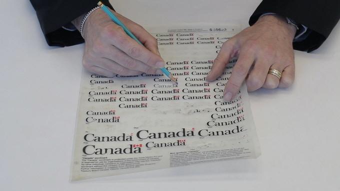 Canada Wordmark designed by Jim Donoahue