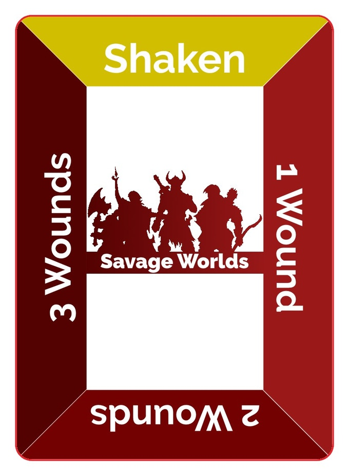 Savage Worlds Condition Card