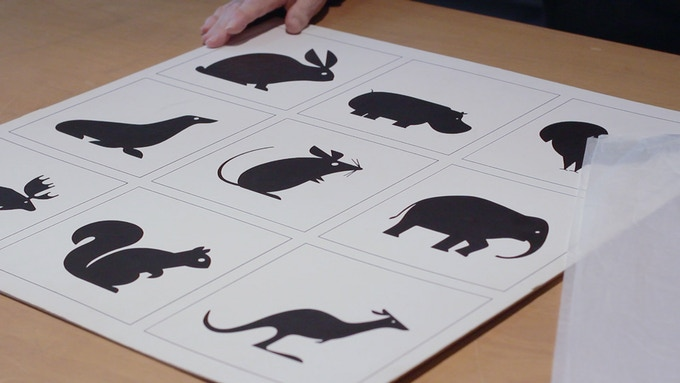 Expo 67 Animal Pictograms by Burton Kramer