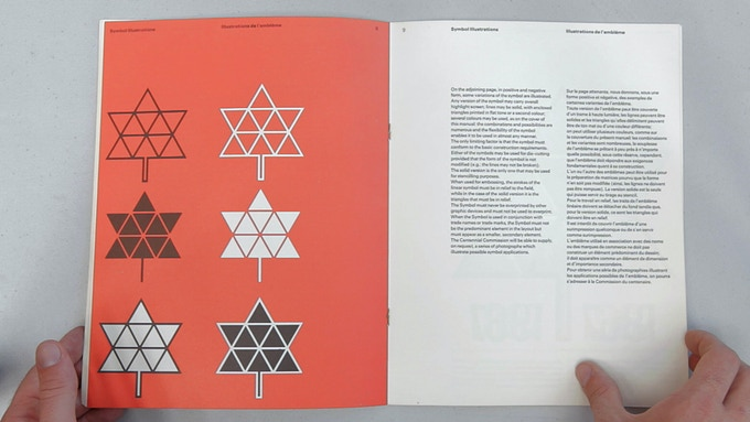 1967 Centennial Graphics Standards Manual by Stuart Ash