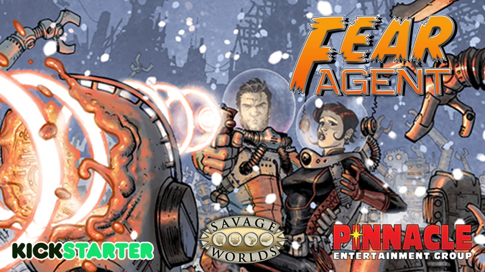 A new RPG setting for Savage Worlds based on the Fear Agent™ graphic novels from Dark Horse Comics™!