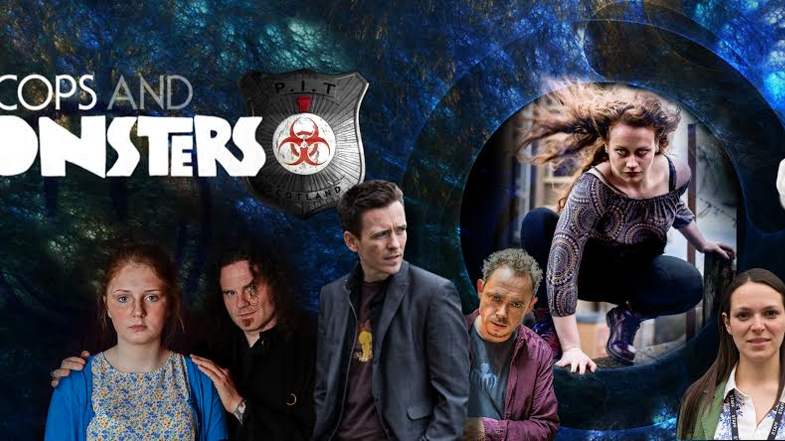 Cops and Monsters is an ongoing award winning webseries from Scotland. Follow the PITS team as they police the supernatural community.