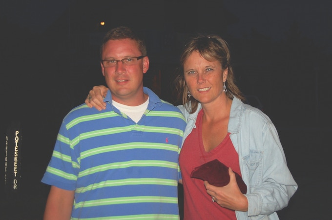 Me with my brother, Jeremy the last summer before he died suddenly.