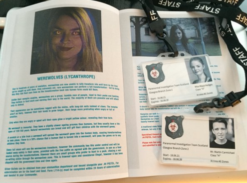 The PITS ID badge