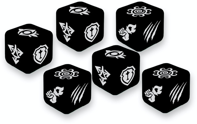 Custom dice are the currency of Village Attacks