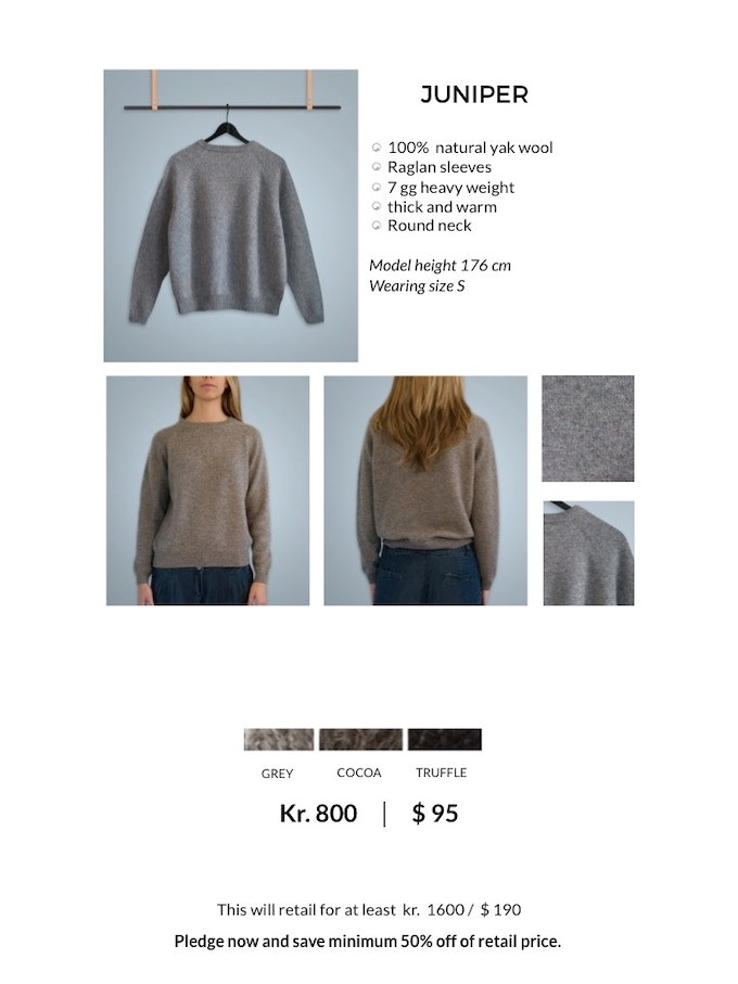 JUNIPER Raglan Sweater
