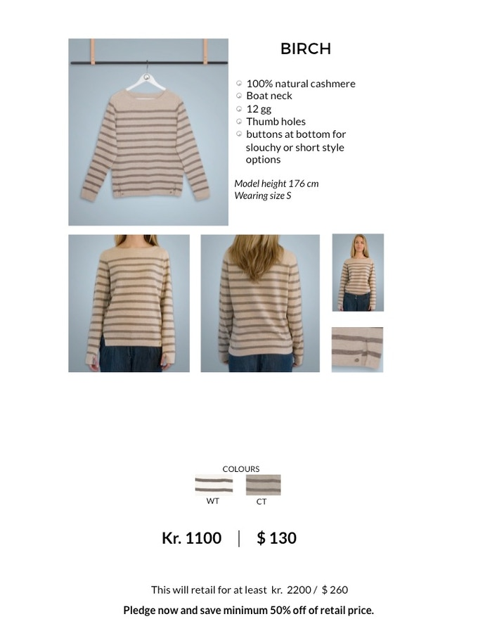 BIRCH Sailor Sweater