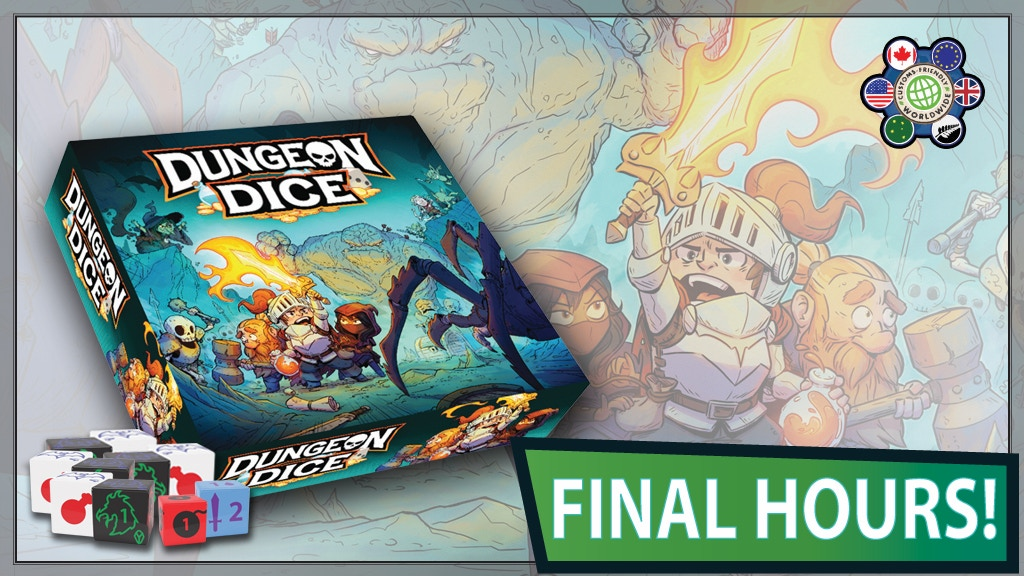 Dungeon Dice: THE LOST KING and Boxed Game project video thumbnail