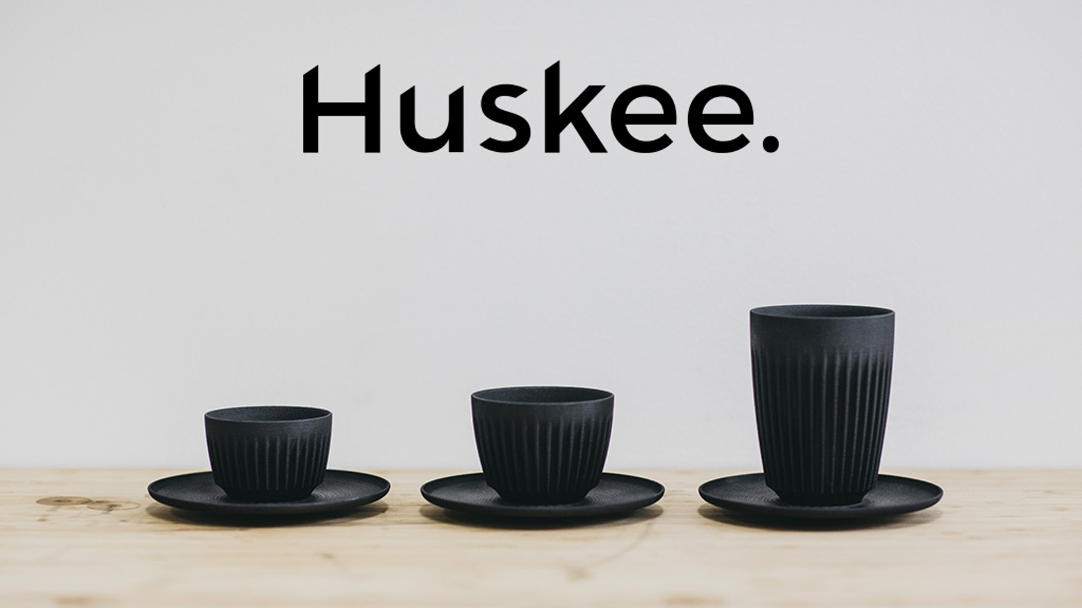 HuskeeCup is a durable, reusable cup made from coffee husk. It's comfortable to hold, and keeps your coffee hotter for longer!