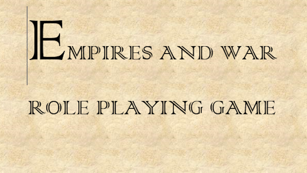 Project image for Empires and War RPG
