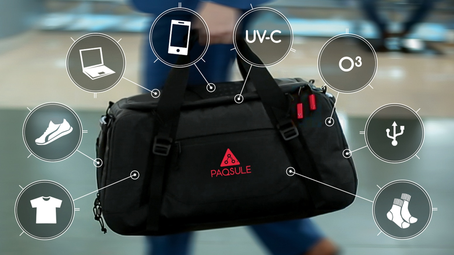 4b8db045c391 Paqsule  Revolutionary Cleaning Technology in A Stylish Bag. Don t worry if  you missed our amazing Kickstarter