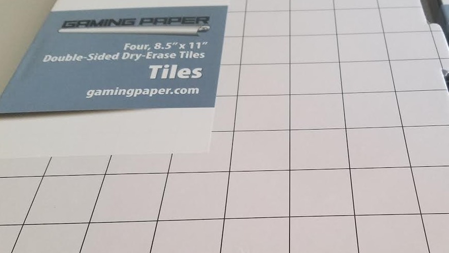 Gaming Paper Dry Erase Tiles By